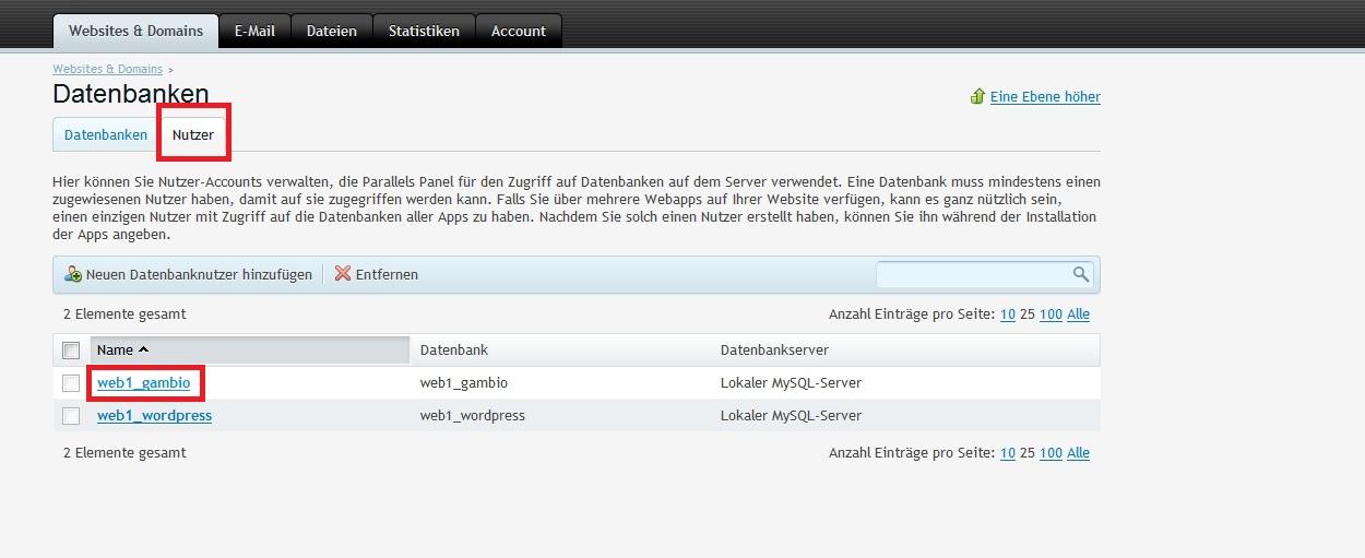 Datenbank-passwort2