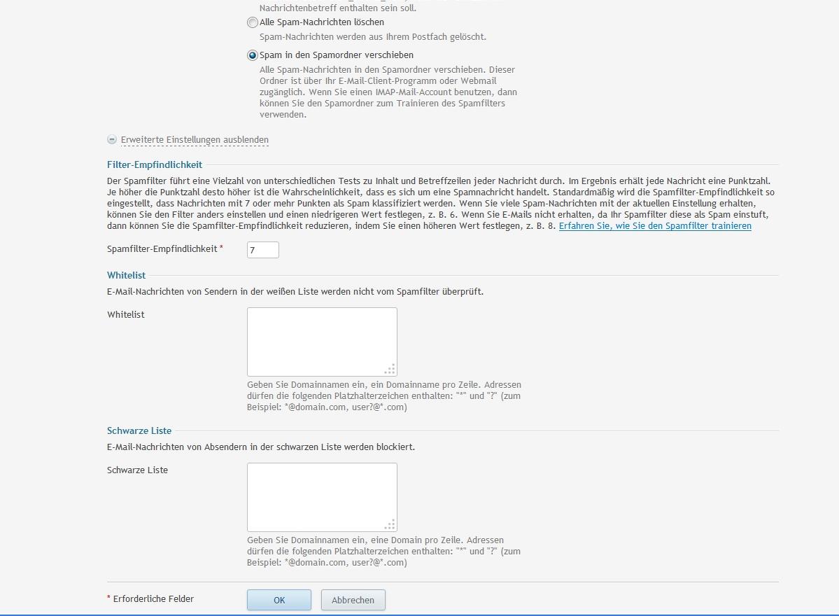 Spamfilter-einstellen_2