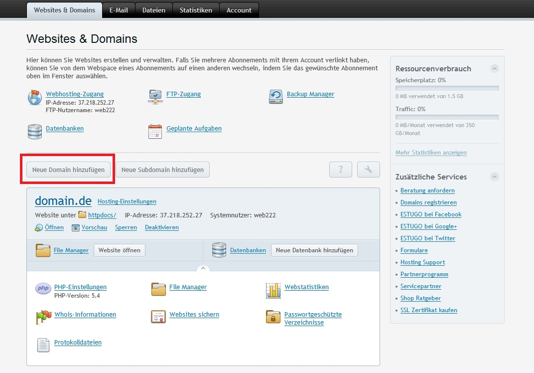 domain-plesk-hinzufuegen-1
