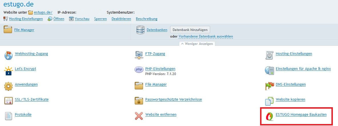 SSL-Verschlüsselung im ESTUGO Homepage Baukasten erzwingen › Shop ...