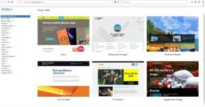 Startmenü Homepage Baukasten